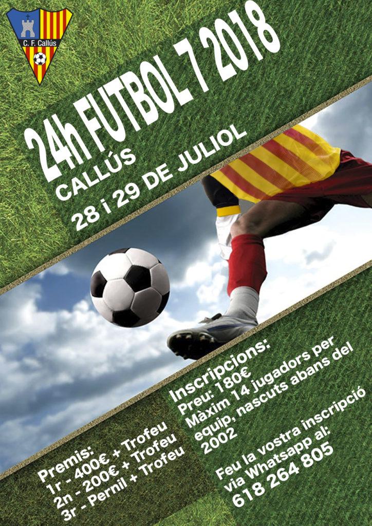 Torneo Futbol 7 - Callús 2018