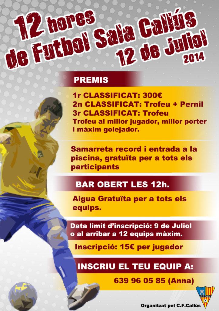 Torneo Futbol Sala - Callús 2014