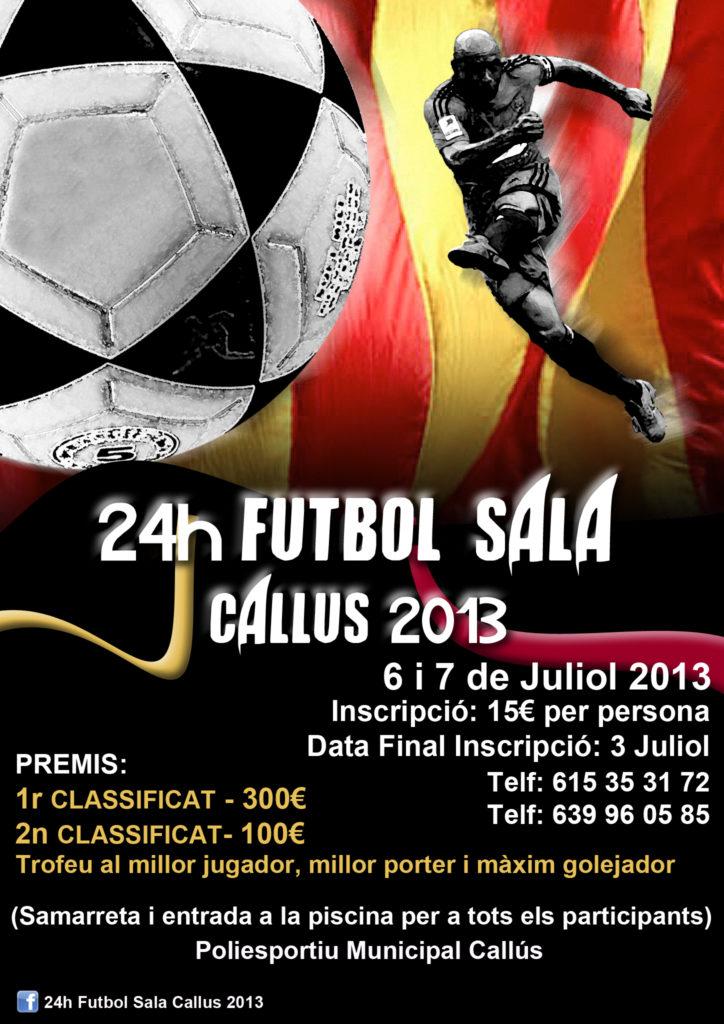 Torneo Futbol Sala - Callús 2013